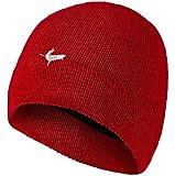 Seal Skinz Kappe Waterproof Beanie Hat - Gorra para hombre, color rojo, talla...