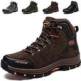 Ikeyo Zapatos de Senderismo para Hombre Impermeables Botas de montaña Zapatos...
