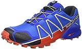 Salomon Speedcross 4, Zapatillas de Running para Hombre, Azul (Blue...