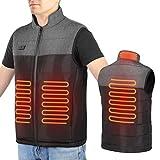 Chaleco Calefactor Mujer Eléctrica Chaqueta Calefactable con 3 Temperaturas...