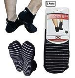 Calcetines antideslizantes YogaAddict para uso hospitalario, viajes, yoga o...