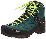 Salewa WS Rapace Gore-TEX Botas de Senderismo, Shaded Spruce/Sulphur Spring, 36...