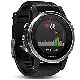 Garmin Fenix 5S - Reloj multideporte, con GPS y medidor de frecuencia cardiaca,...