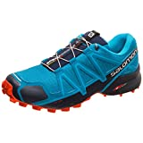 SALOMON Speedcross 4, Zapatillas de Trail Running Hombre, Azul (Fjord Blue/Navy...