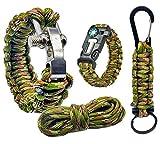 Pulsera supervivencia paracord 550 kit de supervivencia accesorios | Survival...
