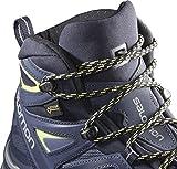 Salomon X Ultra 3 Mid Gore-Tex (impermeable) Mujer Zapatos de trekking, Azul...