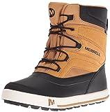 Merrell Ml-Snow Bank 2.0 Waterproof, Botas de Nieve Unisex Niños, Dorado...