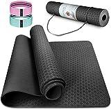 Esterilla Deporte Antideslizante Estera Yoga Colchonetas Pilates Mat Fitness...