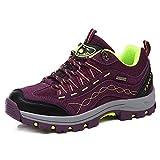 REBEST Botas de montaña para Mujer y Hombre Calzado de montaña, Zapatillas de...