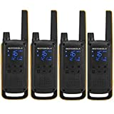 Motorola TALKABOUT T82 EXTREME QUAD PACK WE - Walkie Talkie, color negro y...