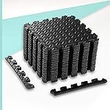 ZERRO CCLIFE Esterilla Puzzle para Suelos de Gimnasio y Fitness 30x30x1cm Suelo...