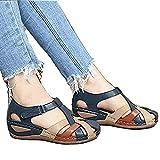 Sandalia de Plataforma Casual Ortopédica para Mujer, Cómoda y Elegante, con...