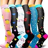 Sooverki Calcetines de compresión para Mujeres y Hombres 20-25 mmHg es el Mejor...