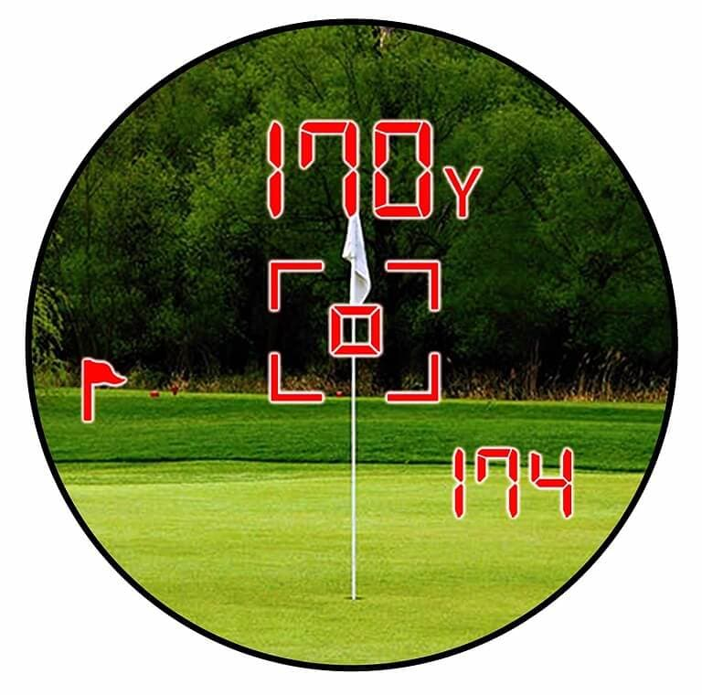 Medidor de Distancia para Golf