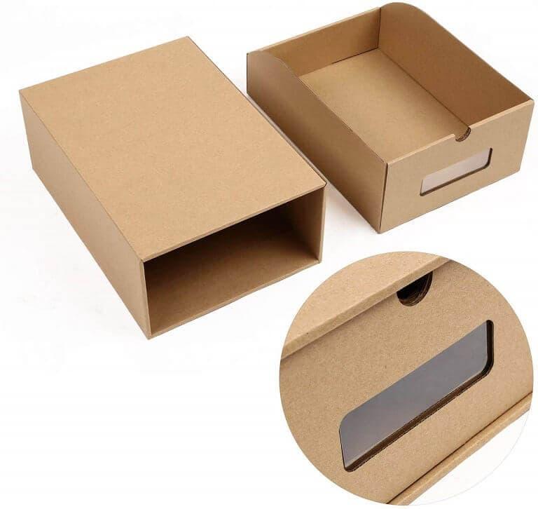 Cajas Organizadoras de Zapatillas de Papel