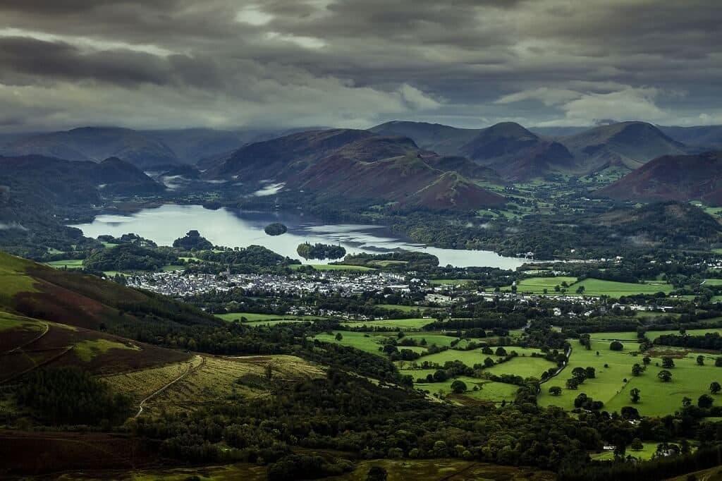 Historia del senderismo Lake District